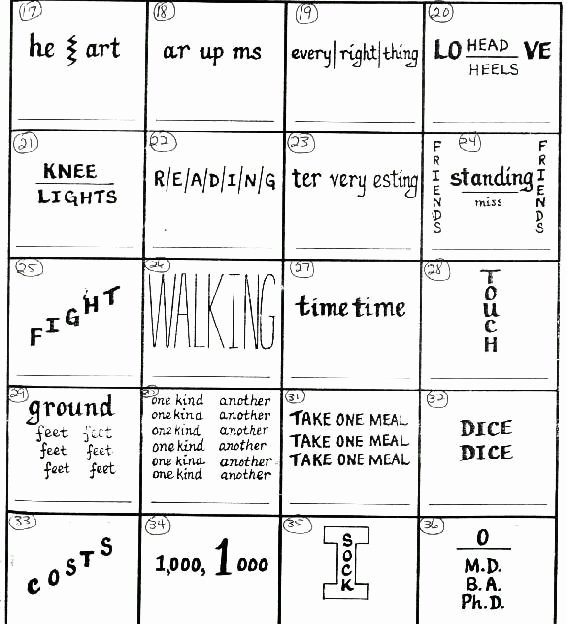 Rebus Puzzles to Print Cath S Corner Brain Teasers Position Puzzlers 2