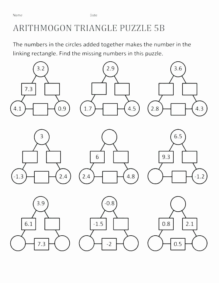 logic puzzles worksheets with answers fun grade math puzzle crossword sight free brain teaser p for 2nd