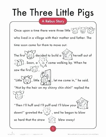 Rebus Story Worksheets Kids Worksheets Grade Language Arts Lesson Plan for Fifth