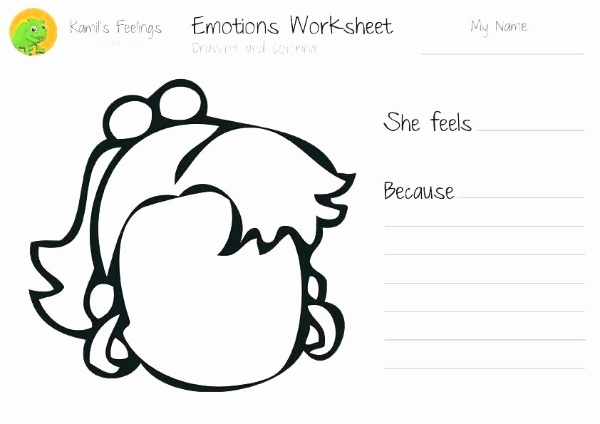 Recognizing Emotions Worksheets Collection Free Feelings Worksheet Ready to Download