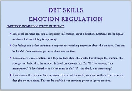 Recognizing Emotions Worksheets Emotion Regulation tools I Like