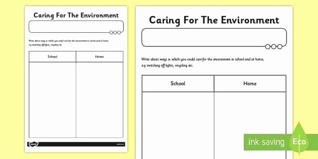 Recycle Worksheets for Preschoolers Lovely Environment Worksheets