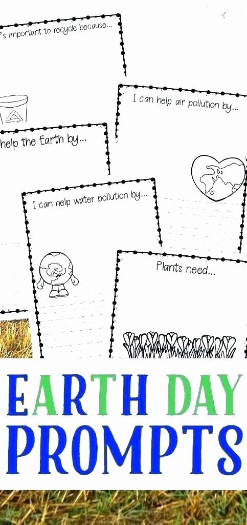Recycle Worksheets for Preschoolers Luxury Earth Day Worksheets Printable Pack C Middle School