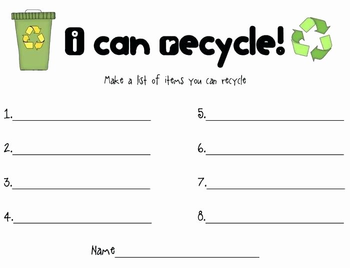 Recycling Worksheets for Middle School Earth Day Vocabulary Learning Games and Activities Free