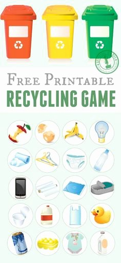 Recycling Worksheets for Preschoolers 269 Best Earth Day & Recycling theme Weekly Home Preschool