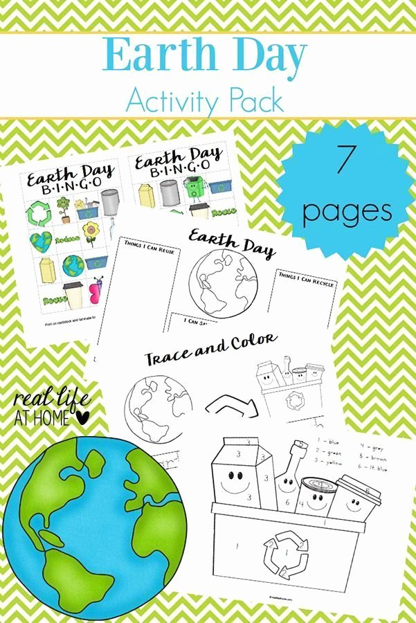 Recycling Worksheets for Preschoolers Earth Day Worksheets and Games Free Earth Day Printables