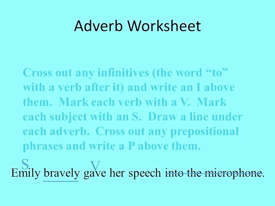 Relative Adverbs Worksheet 4th Grade Sentence Writing Strategy Video Line Download Adverbs