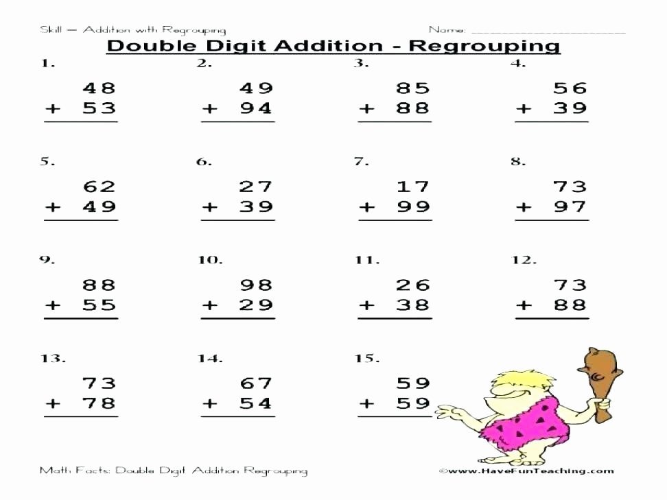 Repeated Addition Worksheets 2nd Grade Repeated Addition Worksheets Grade 3 Digit Regrouping Full