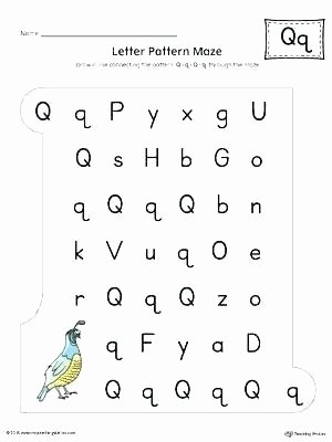 Repeated Patterns Worksheets Letter A Pattern Maze Worksheet Color Letter Pattern