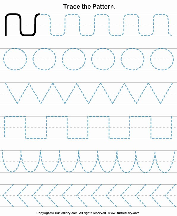Repeating Pattern Worksheets Pattern Worksheets for Kindergarten Beautiful Free