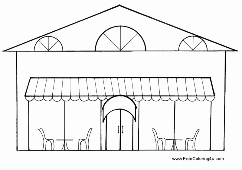 Restaurant Math Worksheets Restaurant Kids Coloring Pages Sheets – Etcontact