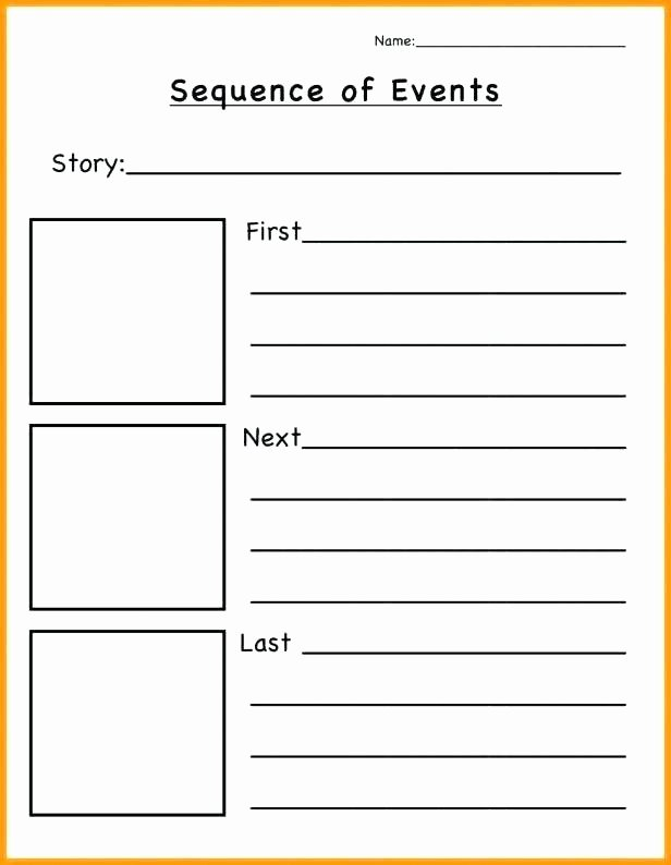 Retell Worksheet First Grade Sequence Worksheets First Grade Kindergarten Story