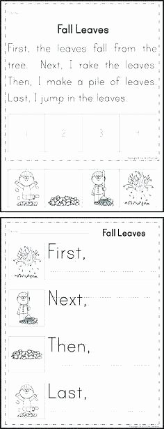 Retell Worksheet First Grade Story Sequencing Worksheets for 1st Grade
