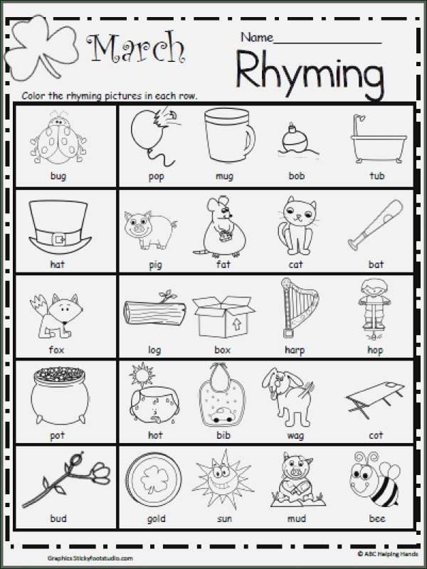 rhyming worksheets of rhyme worksheets