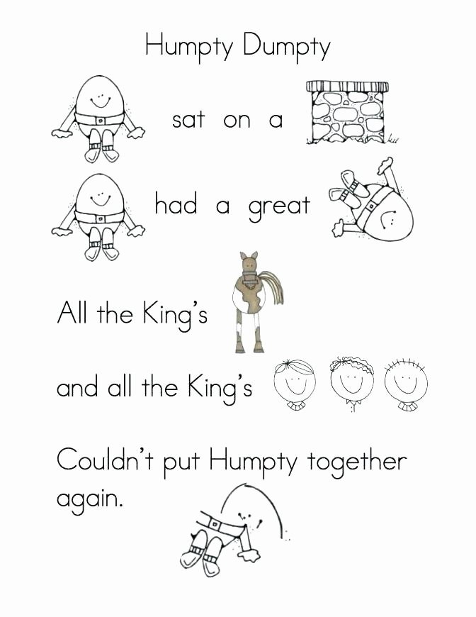 Rhyming Worksheets for Preschoolers Free Rhyming Worksheets for Kindergarten Words Worksheet New