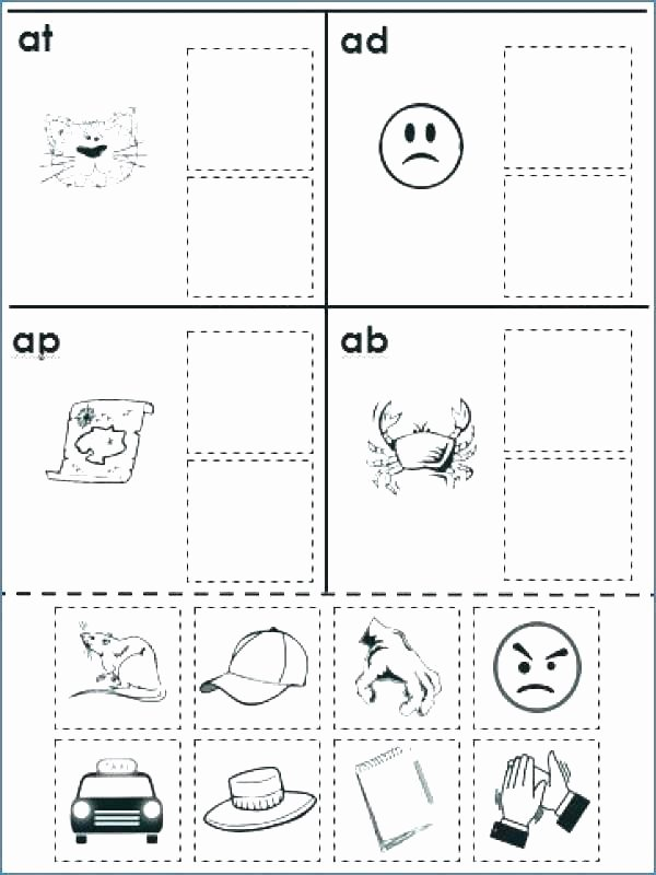 Rhyming Worksheets for Preschoolers Rhyming Worksheets