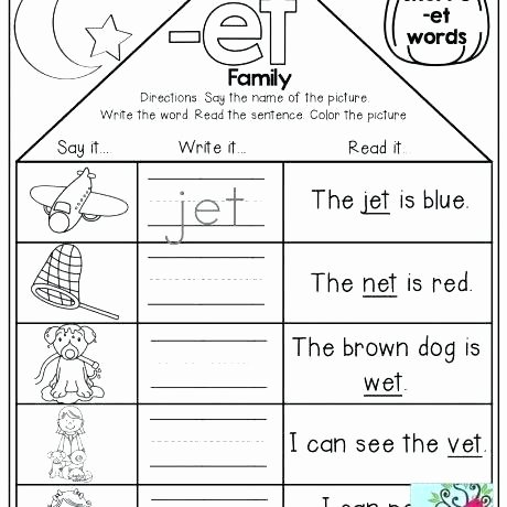 Rhyming Worksheets for Preschoolers Rhyming Worksheets Words Word Worksheet Family Houses and