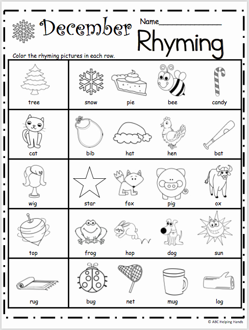Rhyming Worksheets for Preschoolers Under the Sea Counting 5 to 10 Madebyteachers