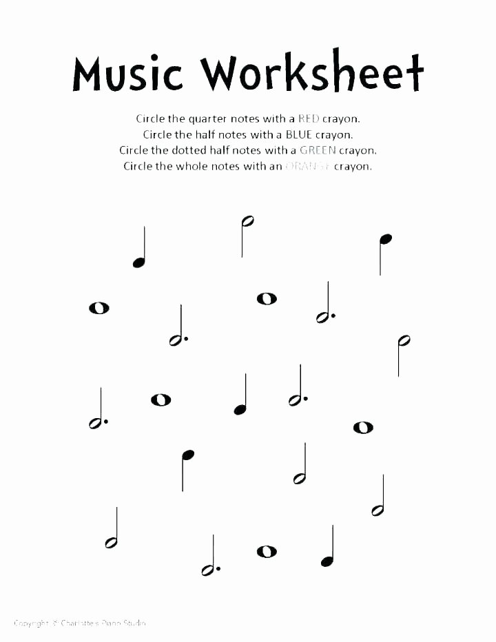 Rhythm Counting Worksheets Music Worksheets Music Worksheets for Kindergarten Math