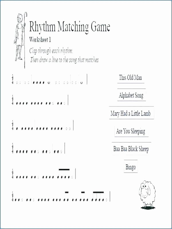 Rhythm Worksheets for Middle School Free Printable Music theory Worksheets 3 Worksheet Major