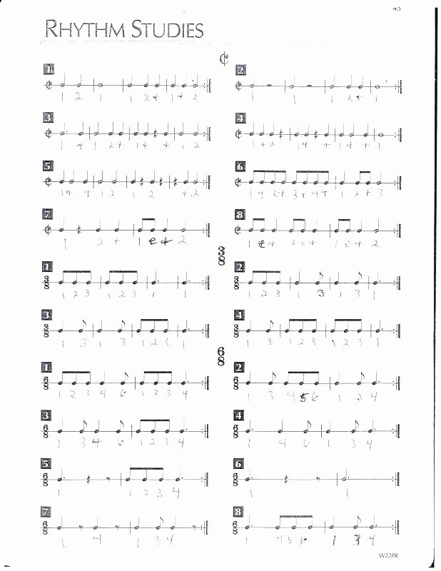 Rhythm Worksheets Free Free Printable Music Note Reading Worksheets Bass Clef Easy