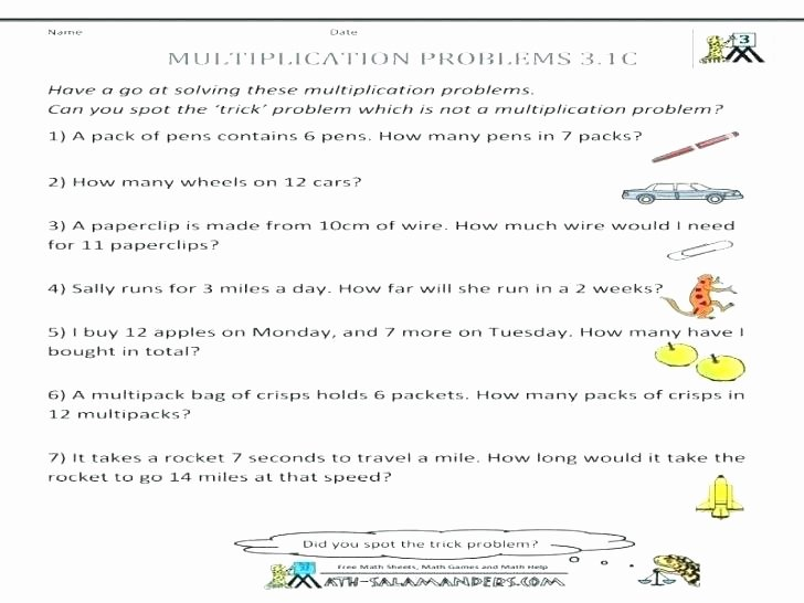 Rocket Math Division Worksheets 5th Grade Multiplication Word Problems – Kcctalmavale