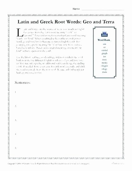 Root Word Worksheets Middle School God Worksheets Gods Worksheet Free Printable the Happy