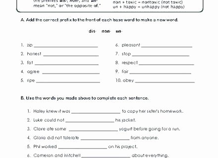 Root Words Worksheet 5th Grade Root Words Worksheet Grade Printable Worksheets Prefix