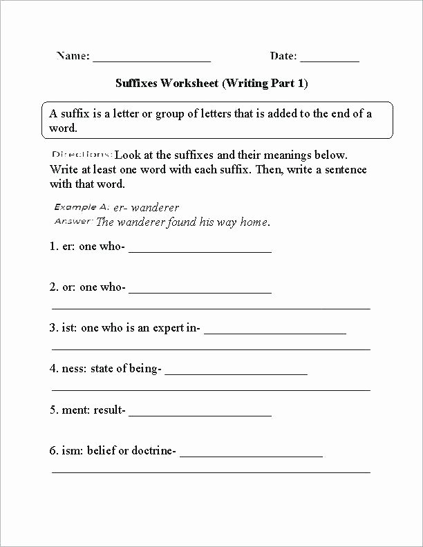 Root Words Worksheets 4th Grade Grade Writing Worksheets Free the Iting Extreme Weather