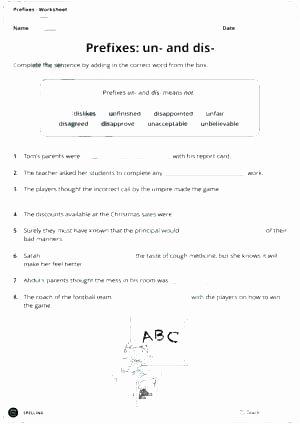 Root Words Worksheets 4th Grade Prefix Re Worksheets Fourth Grade Suffix Negative Prefixes