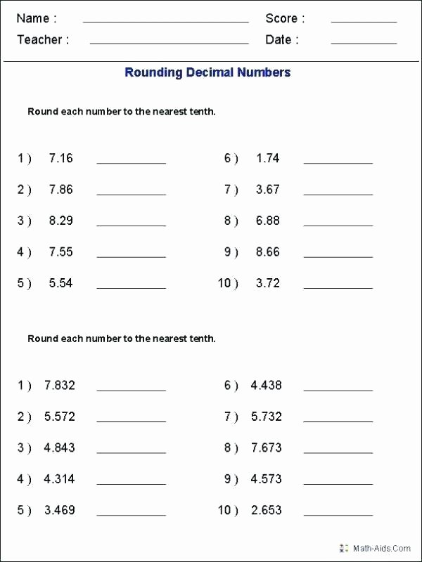 Rounding Numbers Worksheets Pdf Rounding Worksheets 4th Grade