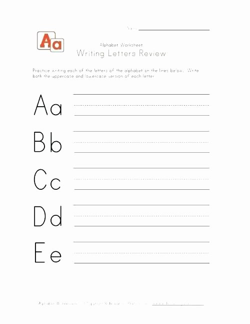 Russian Cursive Alphabet Practice Sheets Handwriting Alphabet Worksheets Homework Letters and Numbers A Z