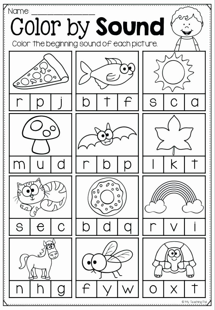 S sound Worksheet Fresh Learning Alphabet sounds Worksheets
