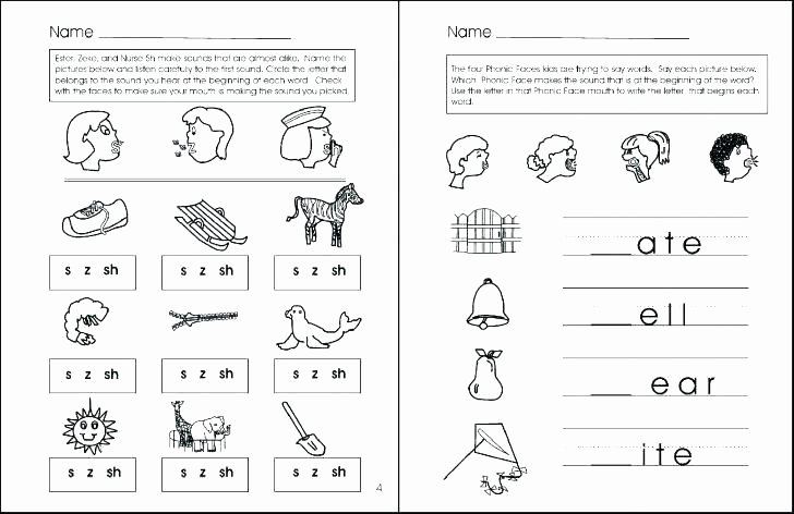 S sound Worksheet Luxury Y Phonics Worksheets 4th Grade Beginning sound the Letter