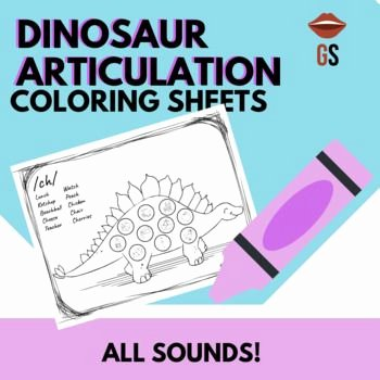 S sound Worksheets Awesome No Prep Dinosaur Articulation Coloring All sounds