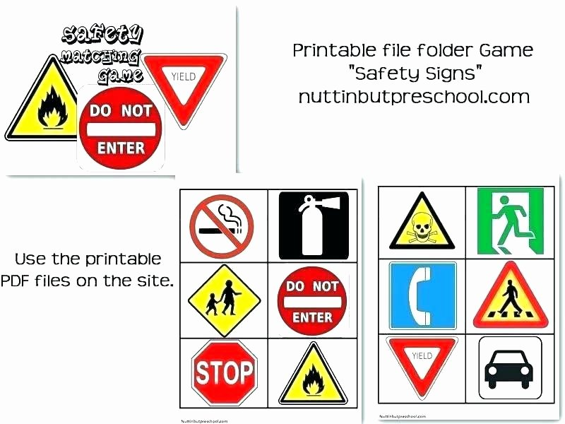 Safety Signs Worksheets Free Road Signs Worksheet Free Printable Worksheets Made by
