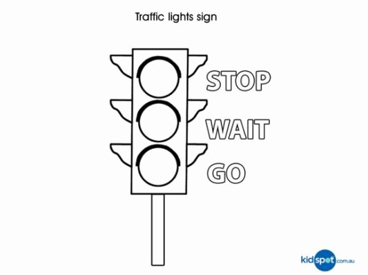 Safety Signs Worksheets Free Shapes for Kids 30 Fun Things Roads