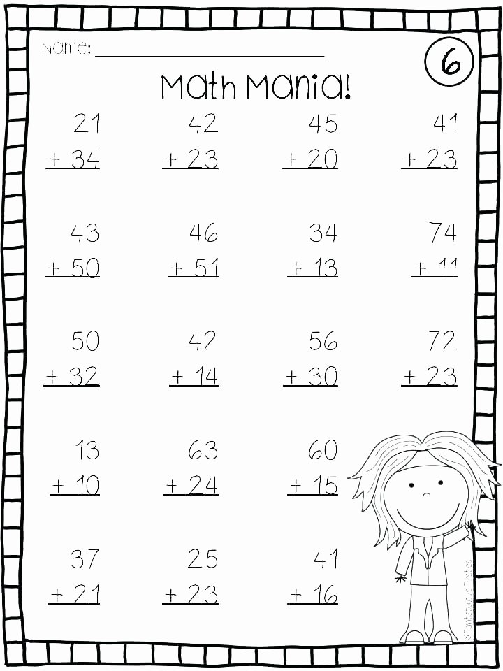 Saxon Math 1st Grade Worksheets Math Practice Worksheets for 1st Grade – Dinnerfromtheheart
