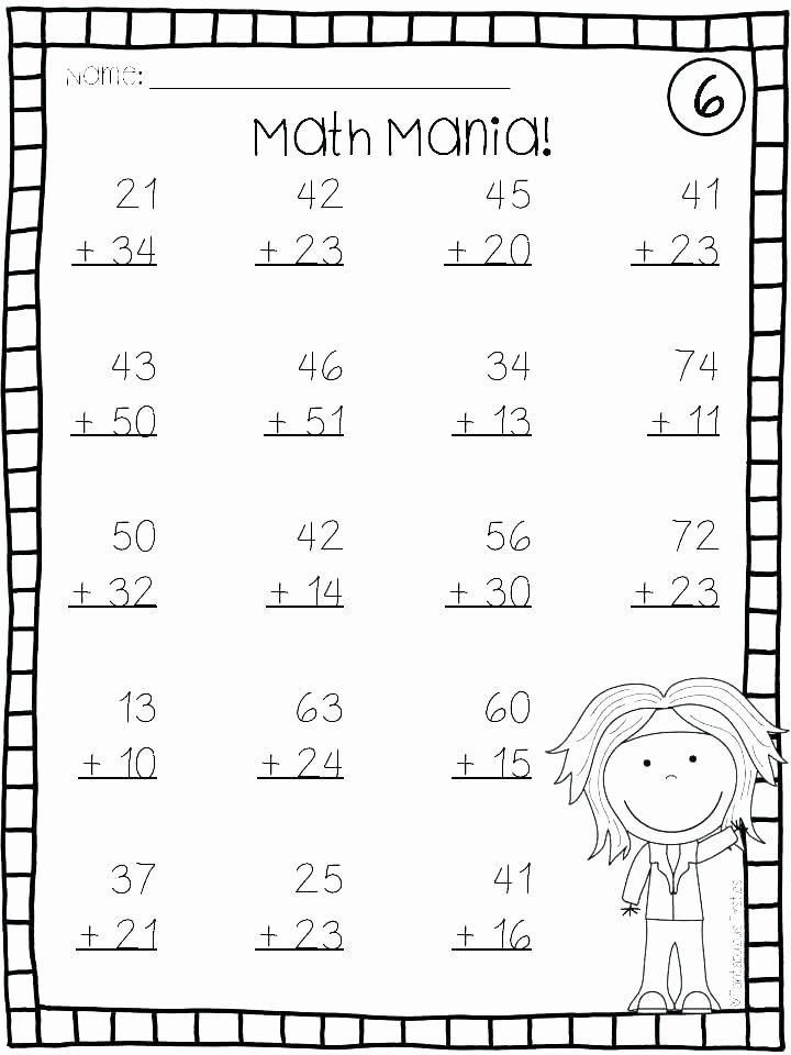 Saxon Math 1st Grade Worksheets Math Practice Worksheets for 1st Grade – Dinnerfromtheheart