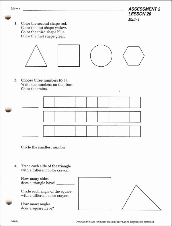 Saxon Math 1st Grade Worksheets Saxon Math Worksheets 1st Grade – Odmartlifestyle