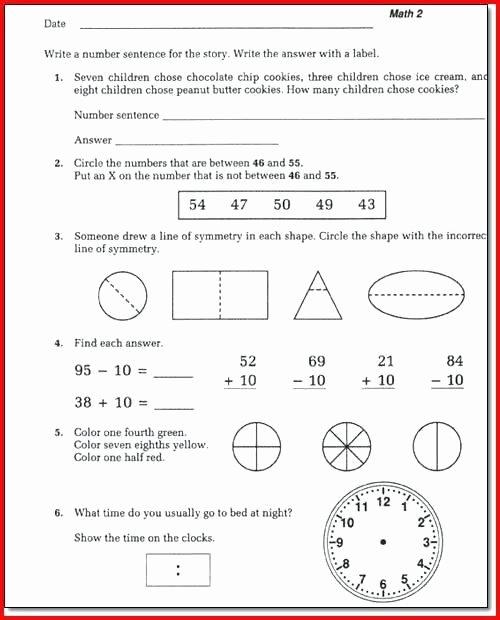 Saxon Math 1st Grade Worksheets Saxon Math Worksheets Grade 5th