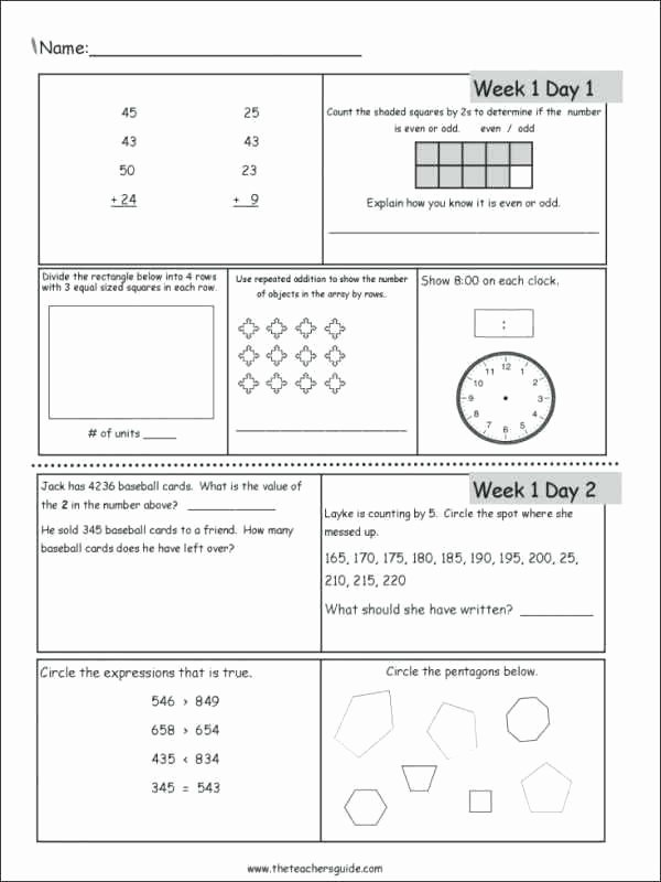 Saxon Math Grade 3 Worksheets Part 1 Our Third Grade Curriculum Math Algebra 2