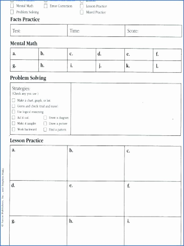 Saxon Math Grade 3 Worksheets Saxon Math Worksheets