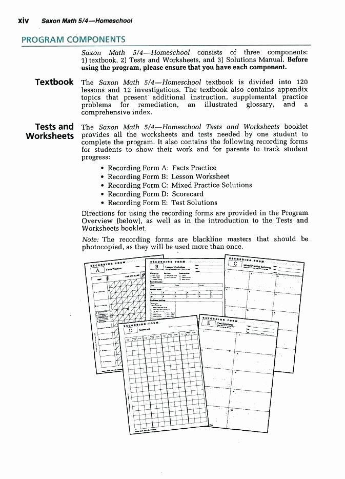 Saxon Math Second Grade Worksheets Saxon Math Worksheets