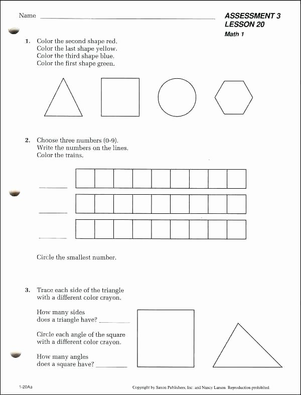 Saxon Math Worksheets 4th Grade Saxon Math Worksheets Grade 5th