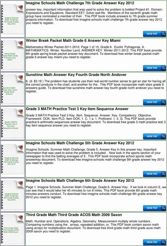 Saxon Math Worksheets 5th Grade 9 Math 5 4 Homeschool Tests and Worksheets 3rd Edition