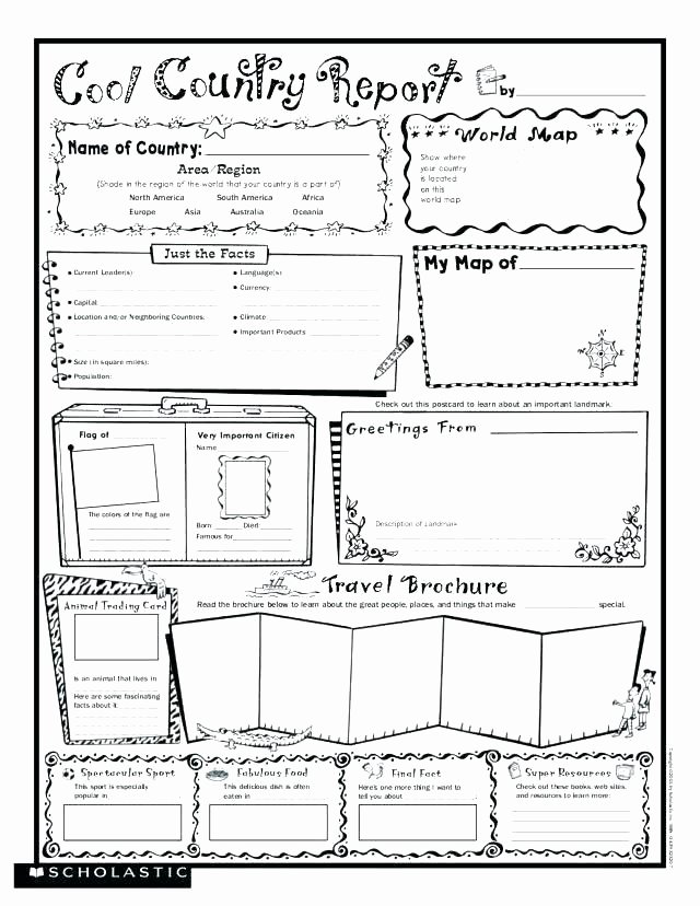 Scholastic Biography Poster Biography Worksheet Famous Free Printable Worksheets
