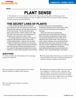 Scholastic Magazine Science World 41 Earth Science Answers Gallery October issue Articles
