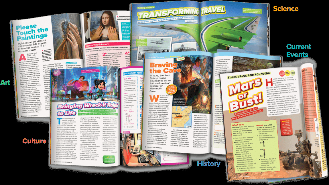 Scholastic Magazine Science World Scholastic Dynamath