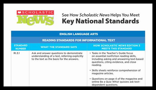 Scholastic Science World Magazine Scholastic Classroom & News Magazines